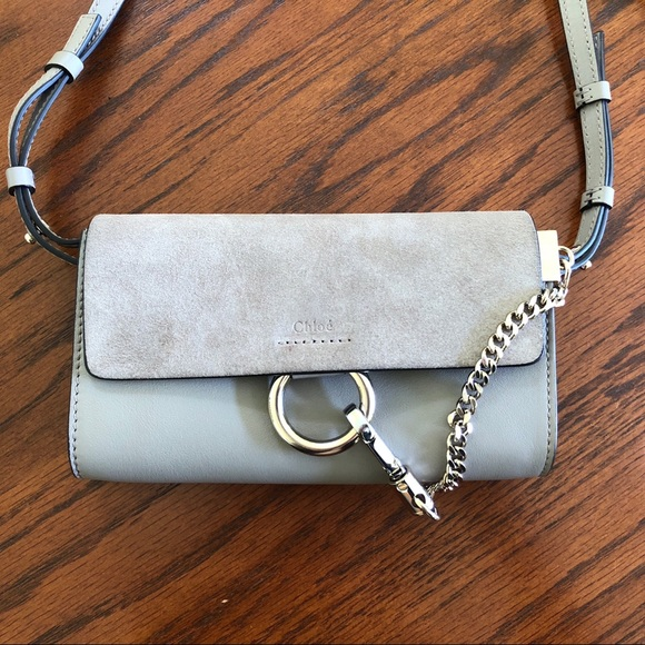 9131de8875088 Chloe Handbags - Chloe Mini Faye Wallet on a Chain